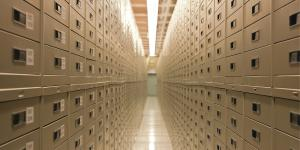 The Granite Mountain Records Vault via lds.org
