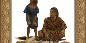 Mormon and Ammaron by James Fullmer