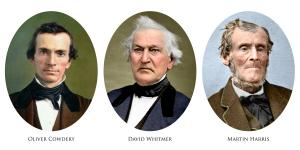 The Three Witnesses of the Book of Mormon Compilation retouching and colorization by Bryce M Haymond