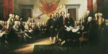 Signing of the Declaration of Independence, John Trumbull.