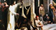 Jesus Heals the Sick by Carl Bloch