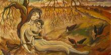"""""""Death by Hunger"""" by Vasyl Krychevsky"""