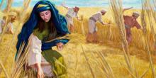"""""""Ruth in Boaz's Field,"""" by Julius Schnorr von Carolsfeld"""