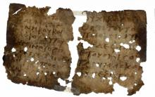 Two Oxhyrhynchus Didache Fragments via bricecjones.com