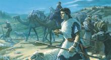 """Lehi's Family Leaving Jerusalem"" by Scott Snow via LDS Media Library"