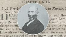 Portrait of John Whitmer and text of D&C 15. Images via Joseph Smith Papers.