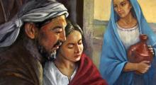 Jesús, María y José by Jorge Cocco