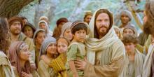 Jesus and the Little Children via lds.org