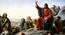 The Sermon on the Mount, Carl Heinrich Bloch.