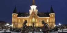 Photograph of the Provo City Center Temple via ldschurchtemples.com