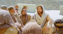 Jesus Declares That He Is the Good Shepherd via LDS Media Library