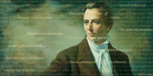 Image by Book of Mormon Central. Features The Prophet Joseph Smith by Alvin Gittins via the LDS Media Library