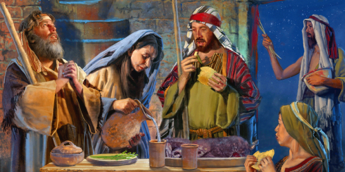The Passover Supper by Brian Call