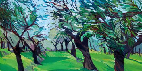 """The Olive Grove"" by Nancy Andruk Olson"