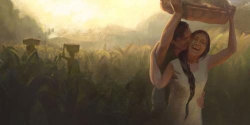 4 Nephi by Normandy Poulter and the BYU Virtual Scriptures Group.