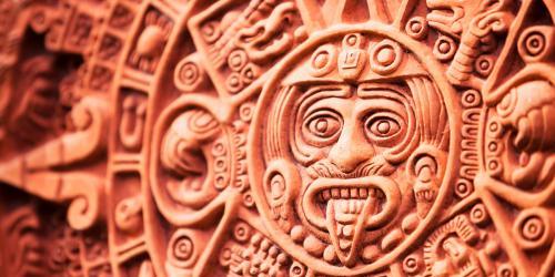 Aztec Calendar. Photo by Don Bayley.