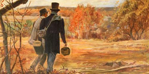 """Early Missionaries"" by Robert Barrett"