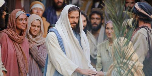 Christ in Jerusalem via lds.org