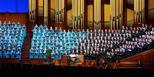 Mormon Tabernacle Choir via LDS Meddia Library
