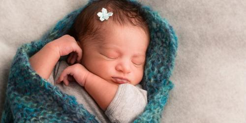 Newborn Sleeping via LDS Media Library