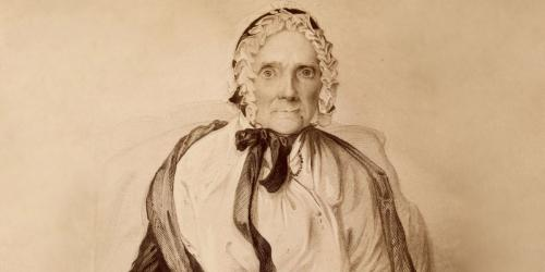 Image of Lucy Mack Smith via LDS Church History
