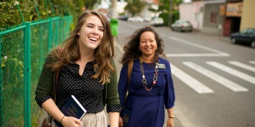 Romania Sister Missionaries via lds.org