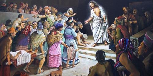 Jesus Sanando by Jorge Cocco