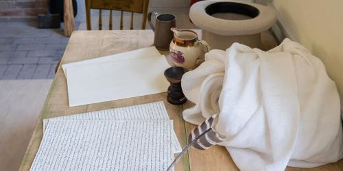 Translation setting in the restored home of Joseph and Emma Smith via Church History Website
