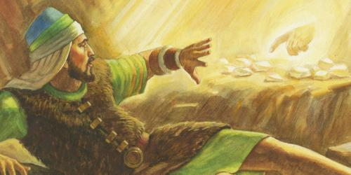 Brother of Jared Sees the Finger of the Lord by Robert T. Barrett