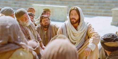 Jesus Declares That He Is the Good Shepherd via LDS Media Library